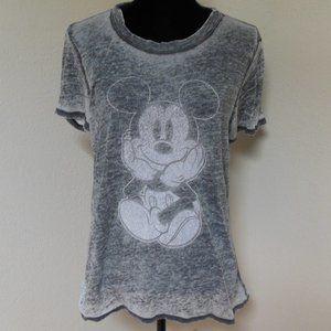 Disney Burn out Mickey Tshirt size XL